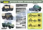 Загальна будова автомобіля КрАЗ-6322 (4516101)