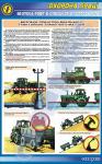 """Плакат""""Безпека праці при виконання тракторних транспортних робіт"""""""