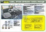 Кабіна, органи керування і панель приладів (4516103)