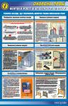 Безопасность работ в электроустановках (техн.меропр.на 2-х плакатах-№1)