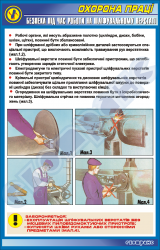 Безпека під час роботи на шліфувальному верстаті