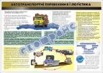 """Плакат """"Автотранспортні перевезення і логістика"""" 20609"""