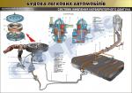 """Плакат """"Система живлення карбюраторного двигуна""""(код 45101В04)"""