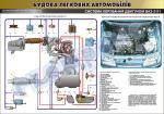 """Плакат """"Система керування двигуном ВАЗ-2111""""(код 45101В07)"""
