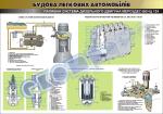 """Плакат """"Топливная система дизельного двигателя Мерседес-бенц 124"""""""