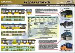 """Плакат """"Модельний ряд автобусів ЛАЗ"""" (код 4510301)"""