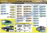 """Плакат """"Модельний ряд автобусів Сканія"""" (код 4510302)"""