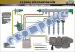 Плакат «Схема системы Сommon rail» 4510405