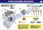 """Плакат """"Топливная система двигателя 1,6 л TDI"""" (Гольф)"""