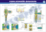 "Плакат ""Насос-форсунка з п'єзоелектричним клапаном"""