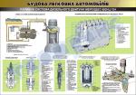 """Плакат """"Топливная система дизельного двигателя автомобиля Мерседес-Бенц 124"""""""