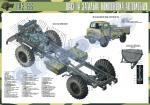 """Плакат """"Шасі та загальна компоновка автомобіля ГАЗ-66"""""""