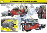 "Плакат ""Силовой агрегат H6E5SD123 Euro 5 ASHOK LEYLAND (автобус Богдан А22112)"""