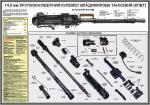 """Плакат """"14,5 мм крупнокалиберный пулемет Владимирова танковый (КПВТ)""""45301014"""