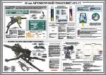 "Плакат ""30-мм автоматический гранатомет АГС-17"" код 4530108"