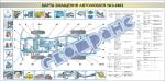 "Плакат ""Карта смазки автомобиля УАЗ-3962"" 453030310"