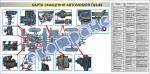 "Плакат ""Карта смазки автомообиля ГАЗ-66"" 453030312"