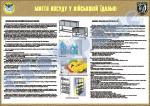 """Плакат """"Миття посуду у військовій їдальні"""" код 4530603"""