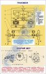 """Плакат """"Трансмиссия. Ведущий мост"""" код 4910103"""