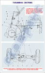 """Плакат """"Тормозная система"""" код 4910107"""
