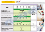 """Плакат """"Основні технічні показники сумішей Кнауф"""" код 4950103"""