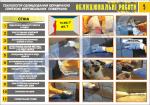 """Плакат """"Технология облицевания керамической плиткой вертикальных поверхностей"""" (4950205)"""