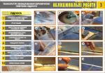 """Плакат """"Технология облицевания керамической плиткой пола"""" (4950207)"""