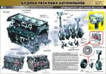 """Плакат """"Кривошипно-шатунный механизм"""" (код 4510104)"""