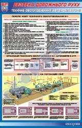 """Плакат """"Техническое обслуживание автомобилей ТО-1"""""""