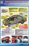 """Плакат """"Узлы и агрегаты автомобиля, влияющие на безопасность движения"""""""