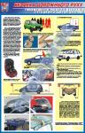 """Плакат """"Перевозка людей и грузов легковыми автомобилями""""   BR.1.040A"""