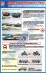 """Плакат """"Буксировка транспортных средств""""   BR.1.044"""