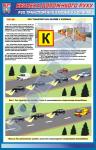 """Плакат """"Движение транспортных средств в колоннах""""   BR.1.056"""