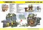 "Плакат ""карбюратор К-88"""