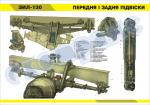 "Плакат ""Передняя и задняя подвески ЗИЛ-130"""