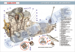 Плакат «Силовий агрегат автомобіля» (код 4510602)