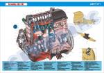 Плакат «Двигатель»