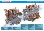 Плакат «Карбюратор ВАЗ-2107»