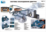 """Плакат """"Система охлаждения двигателя"""""""
