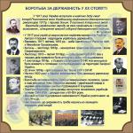 Борьба за государственность в 20 столетии