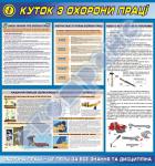 Куток з охорони праці-безпека при роботі з інструментами та пристроями