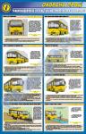 """Плакат """"Травмоопасные ситуации на автомобильном транспорте"""""""