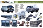 """Плакат """"Кузов автомобілів сімейства УАЗ-3741 (код UAZ.27)"""